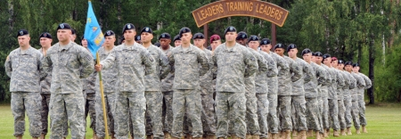 Warrior Leaders Course Graduation Ceremony